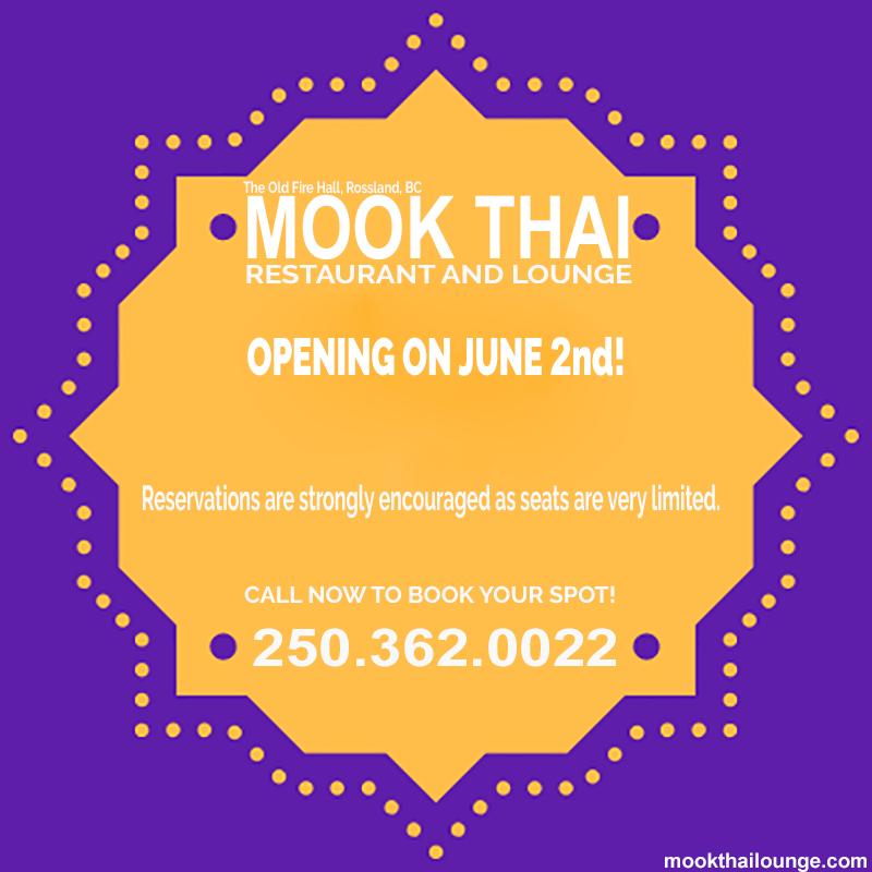 mookthai opening Thaithai Restaurant Logo